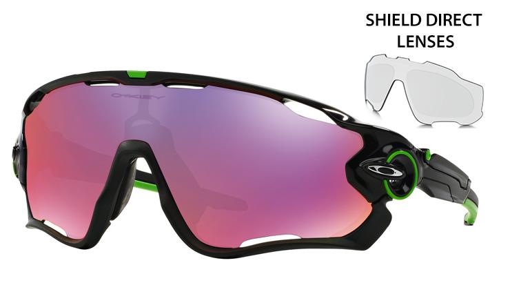 3d24c2a4db87 Oakley Jawbreaker prescription sunglasses Cavendish Polished Black