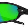 Adidas Evil Eye Evo Sunglasses Black Shiny / Black - Grey / Green Mirror (6050)