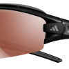 Adidas Evil Eye Halfrim Pro Sunglasses Matte black / Grey - LST Active Silver + Bright (6054)
