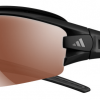 Adidas Evil Eye Halfrim Pro Sunglasses Matte black - LST Polarised Silver + Bright (6072)