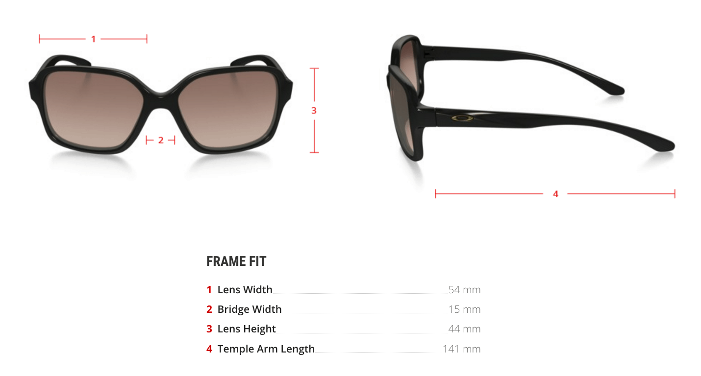 oakley prescription Proxy sunglasses measurements