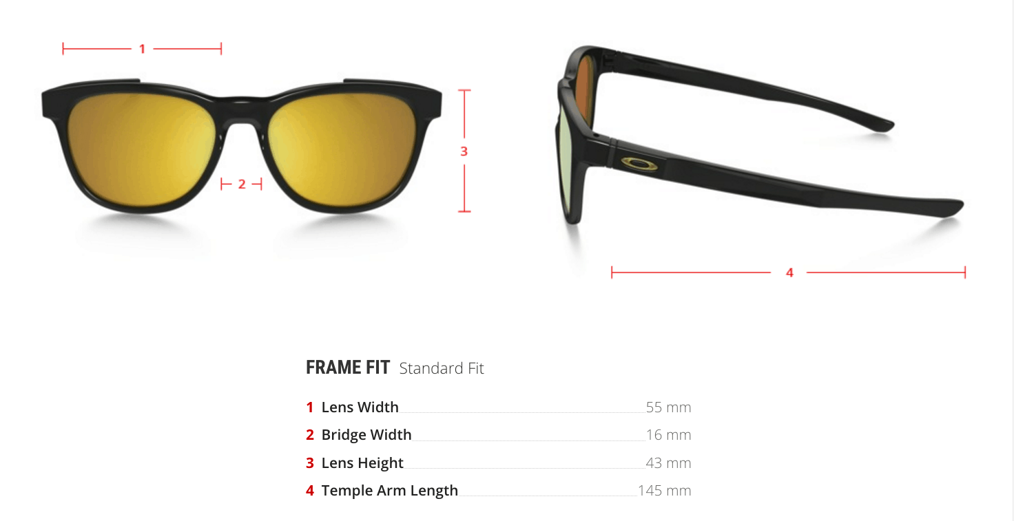 oakley prescription Stringer sunglasses measurements