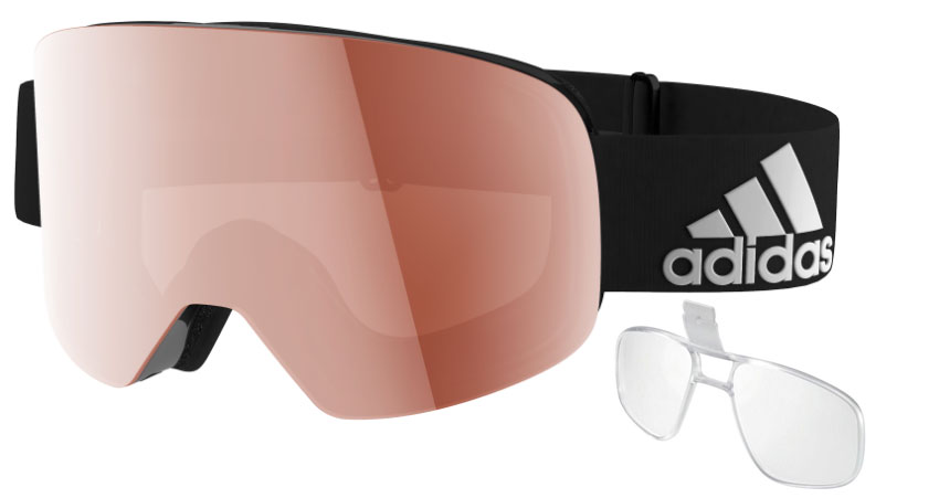 b3ab1dd163 Adidas Prescription Goggles - Adidas Goggles with Rx insert