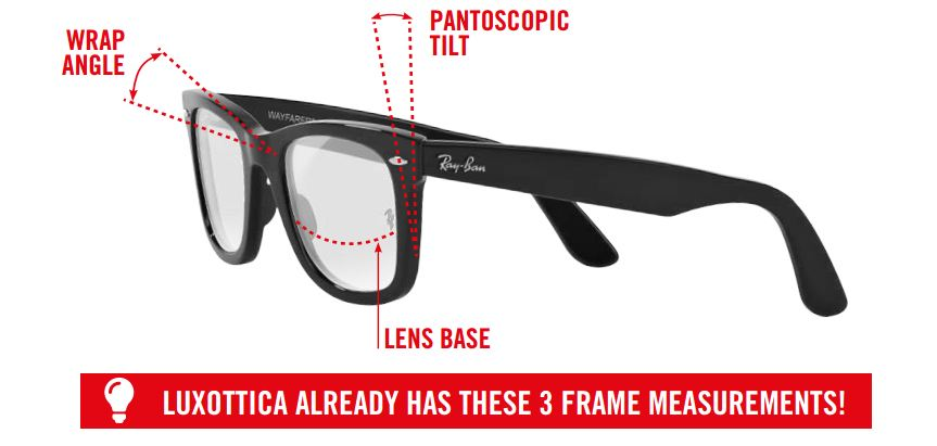 ray ban prescription lenses digital lens measurements