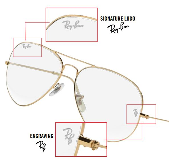 ray ban prescription sunglasses logo