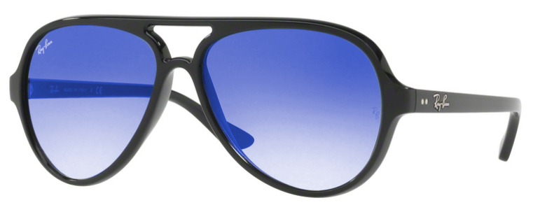 ray-ban-prescription-sunglasses-cats-5000-black-blue-mirror
