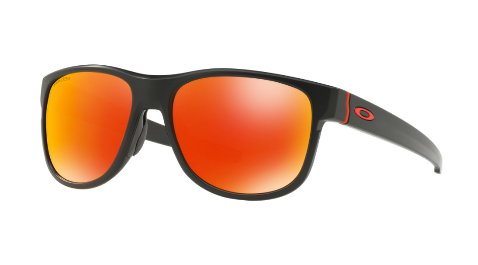 fb496741b3 Oakley crossrange R prescription sunglasses matte black red OTD 9359