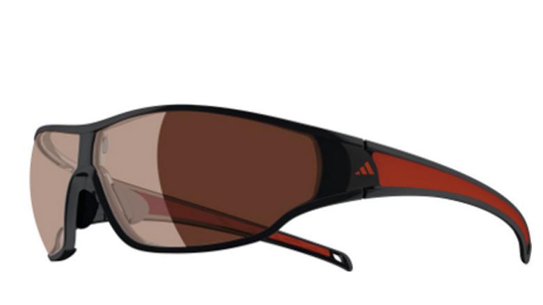 ced88d5c6 Adidas Tycane Prescription Sunglasses shiny black red 6051 genuine Adidas  lenses