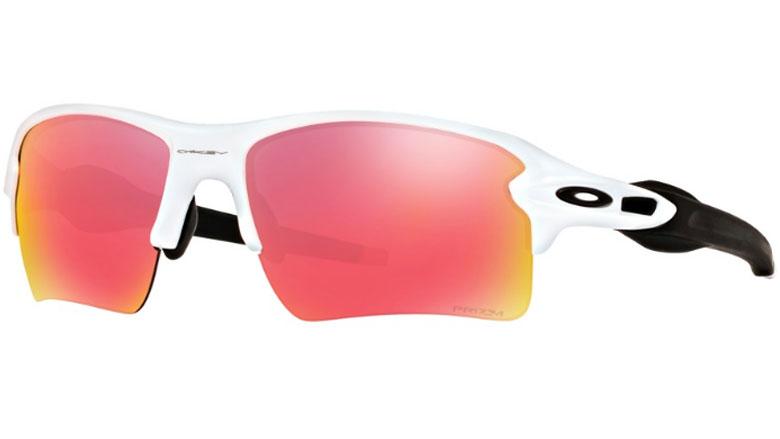 9e34a34bc2b5 Oakley Flak 2.0 XL Polished White Prescription Sunglasses with Digital  Lenses
