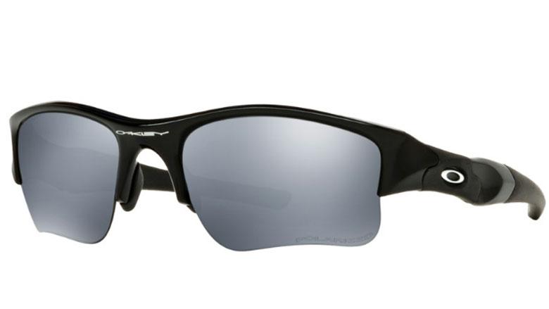 21a23aca11 Oakley Flak Jacket XLJ Polished Black Prescription Sunglasses with Digital  Lenses