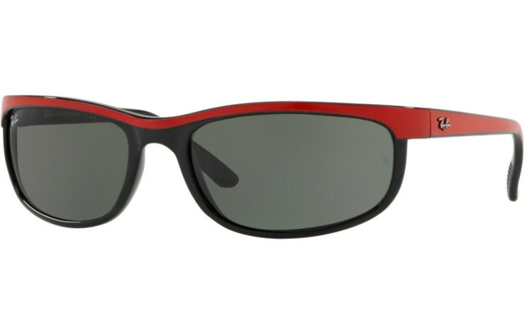 0aa0d9cde3 Ray Ban Top Red on Black Predator 2 prescription sunglasses
