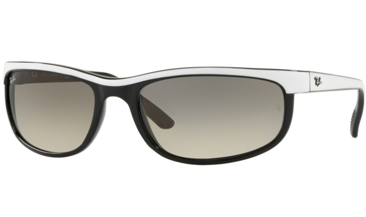 7b63b25d01 Ray Ban Top White on Black Predator 2 prescription sunglasses with Ray Ban  Lenses
