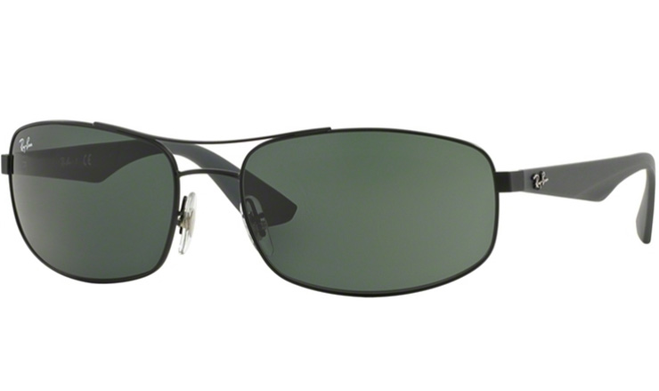abae1a03429 Ray Ban Matte Black 3527 prescription sunglasses with Ray Ban Lenses
