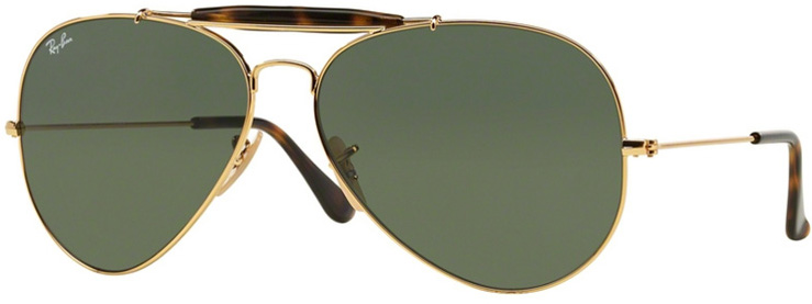 Ray Ban Outdoorman II Prescription Sunglasses