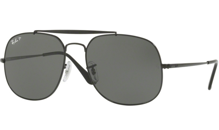 aa02a80a89 Ray Ban Black The General prescription sunglasses with Ray Ban Lenses