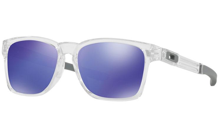 4a6badb6c63e2 Oakley Catalyst Prescription Sunglasses Polished Clear Oakley Lenses