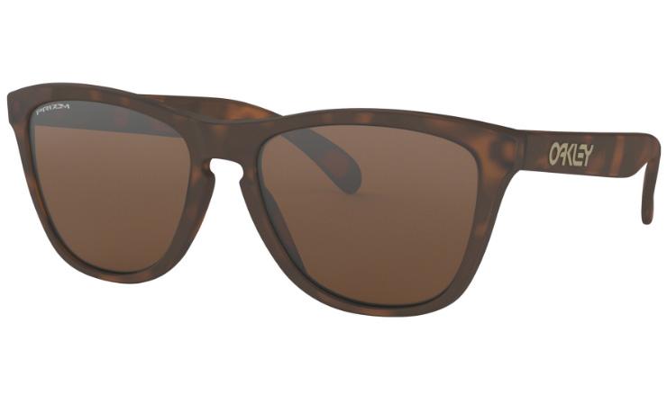 06f3dd7eed4 Oakley Frogskins Prescription Sunglasses Matte Brown Tortoise Oakley Lenses