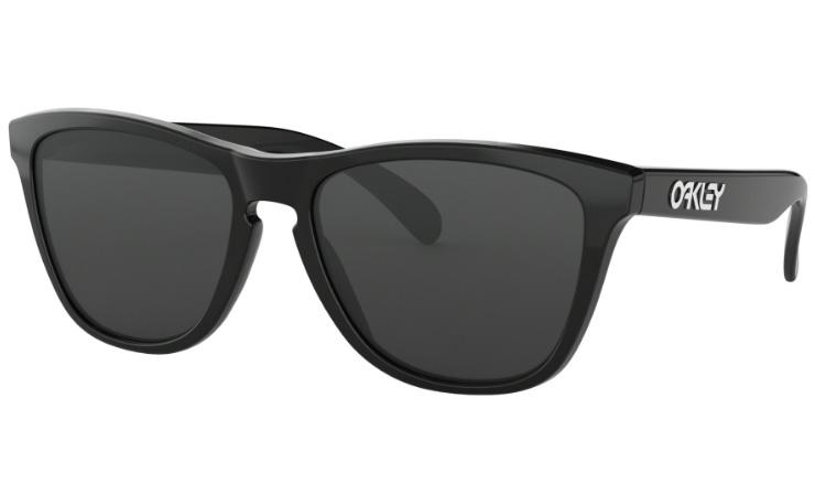 1927d2e480 Oakley Frogskins Prescription Sunglasses Polished Black Oakley Lenses