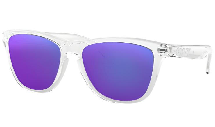 75db8246456 Oakley Frogskins Prescription Sunglasses Polished Clear Oakley Lenses