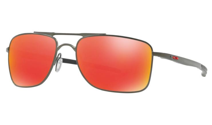 Oakley Gauge 8 >> Oakley Gauge 8 Prescription Sunglasses Matte Carbon Oakley Lenses 4124 M L
