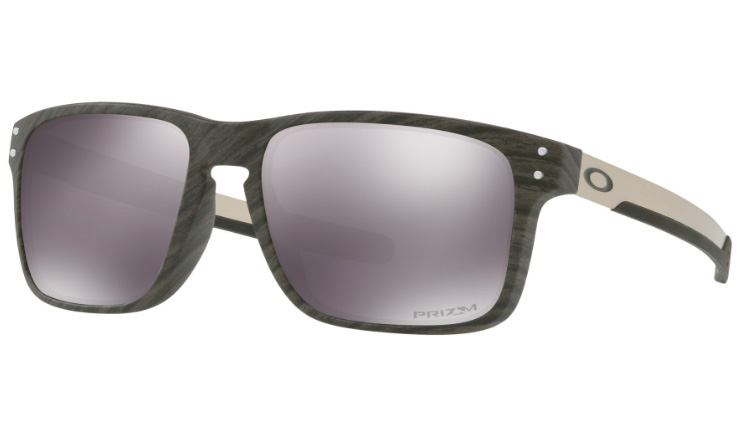 400c9e7a076 Oakley Holbrook Mix Prescription Sunglasses Wood Grain Oakley Lenses