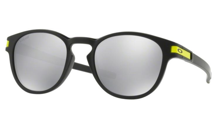 e7f563596f Oakley Latch Prescription Sunglasses Matte Black With Yellow Clip Oakley  Lenses