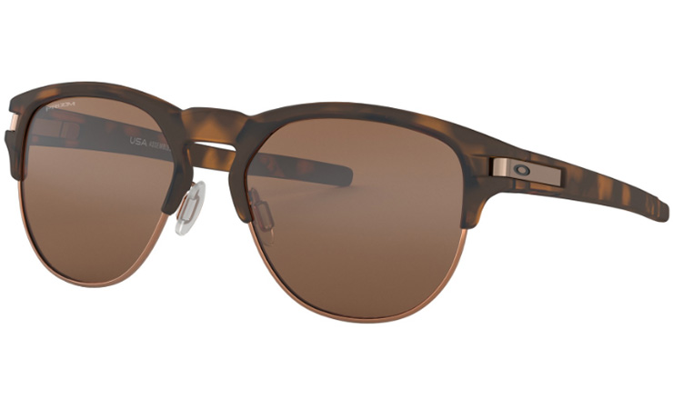 89f13240943 Oakley Latch Key Prescription Sunglasses Matte Brown Tortoise With Rose Gold  Oakley Lenses