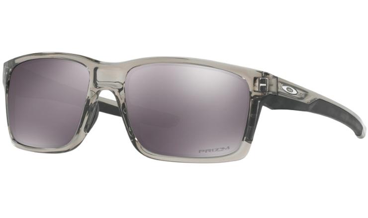 76113502ba Oakley Mainlink Prescription Sunglasses Grey Ink With Satin Chrome Icon Oakley  Lenses