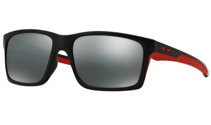 c8e29c916a Oakley Mainlink Prescription Sunglasses Matte Black With Red Oakley Lenses