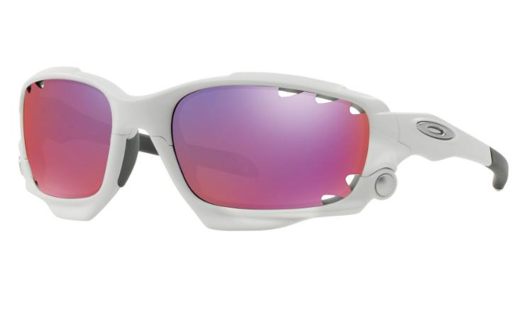 ultima collezione a basso prezzo vendita usa online Oakley Racing Jacket VENTED Prescription Sunglasses Matte White (Oakley  lenses) 9171