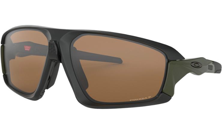3d8d8352a00 Oakley Field Jacket Prescription Sunglasses Matte Black With Metal Icon  Oakley Lenses