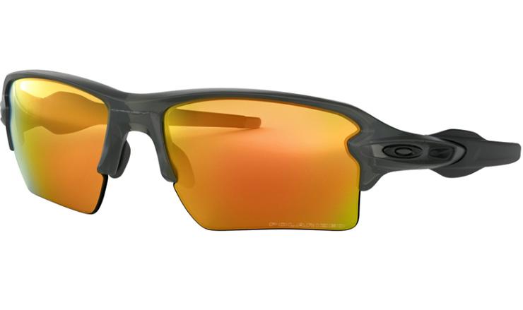 fbd1814f3 Oakley Flak 2.0 XL Prescription Sunglasses matte grey Smoke