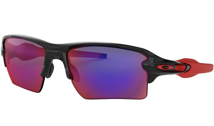 b7d68882353 Oakley Flak 2.0 XL Prescription Sunglasses Polished Black Red