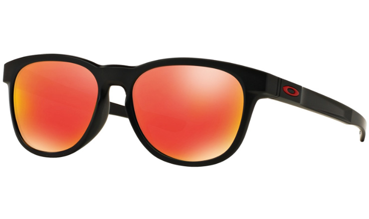 b361427655 Oakley Stringer Prescription Sunglasses Matte Black With Red Icon Oakley  Lenses