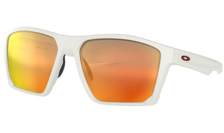 b942574c61bf Oakley Targetline Prescription Sunglasses Matte White With Red Icon Oakley  Lenses