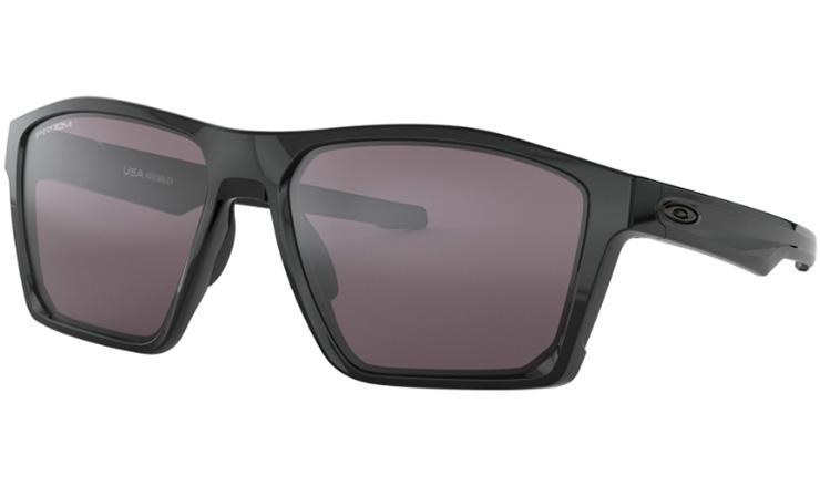 d4998bf0cf Oakley Targetline Prescription Sunglasses Polished Black With Gunmetal Icon Oakley  Lenses