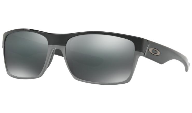 6e8fef0084 Oakley Twoface Prescription Sunglasses Polished Black With Gunmetal Oakley  Lenses
