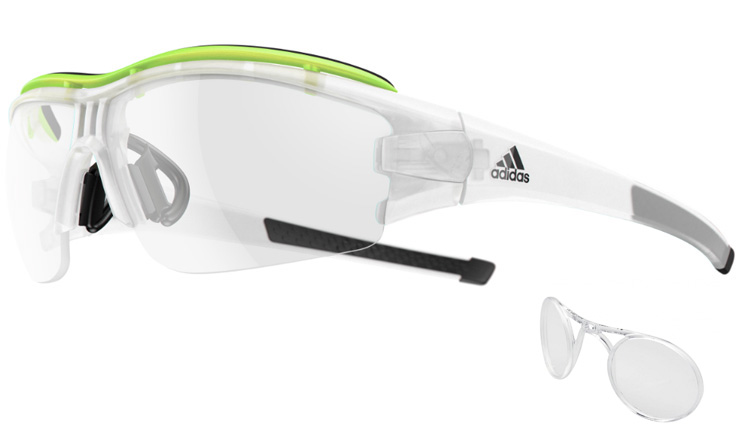 1b3b270364 Adidas Evil Eye Halfrim Pro Crystal Matt   Glow Vario 1100 Prescription