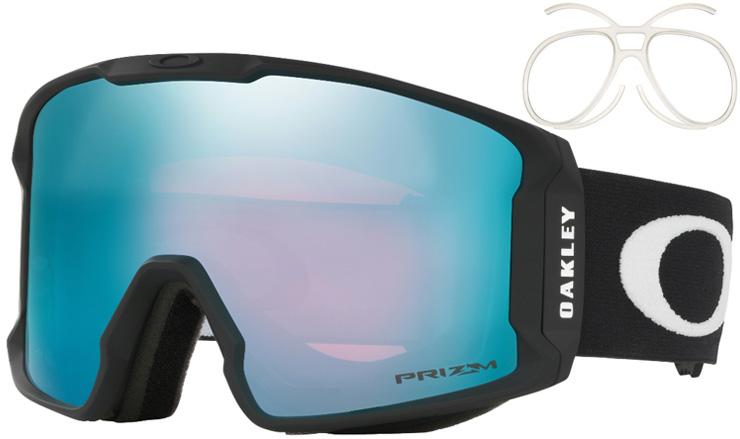 3970dd7bba Oakley Line Miner XM Matte Black Prizm Snow Sapphire Iridium ...