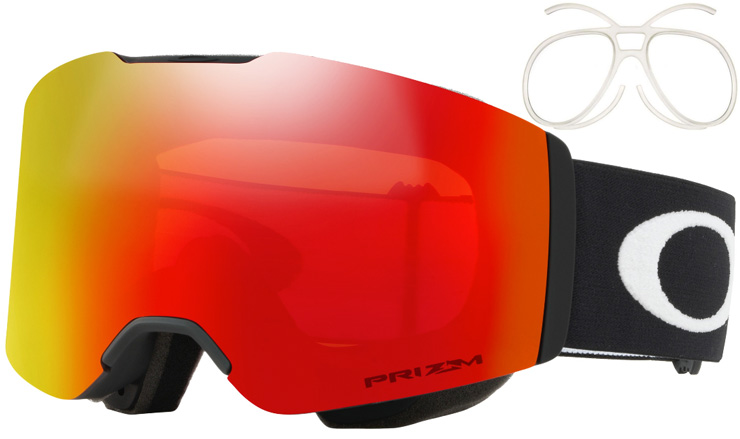 6e7669be83 Oakley Fall Line Matte Black Prizm Snow Torch Iridium Prescription ...