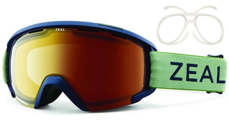 Zeal Slate Prescription Goggles