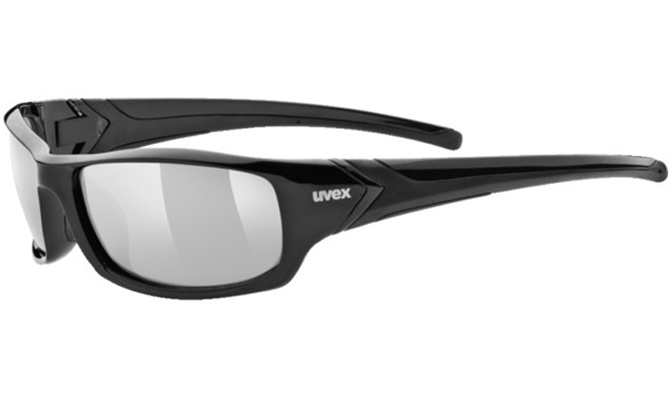 b284e1bb844 Uvex 211 Prescription Sunglasses Black with Digital Wrap Direct Lenses