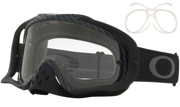 Oakley Crowbar Prescription MX Goggles