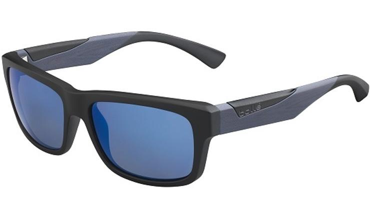 523df72d217d2 Bolle Jude Matte Black   Grey Wood Prescription Sunglasses