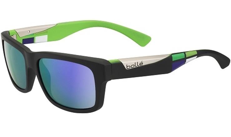 14e1ef2806410 Bolle Jude Matte Black   Square Prescription Sunglasses