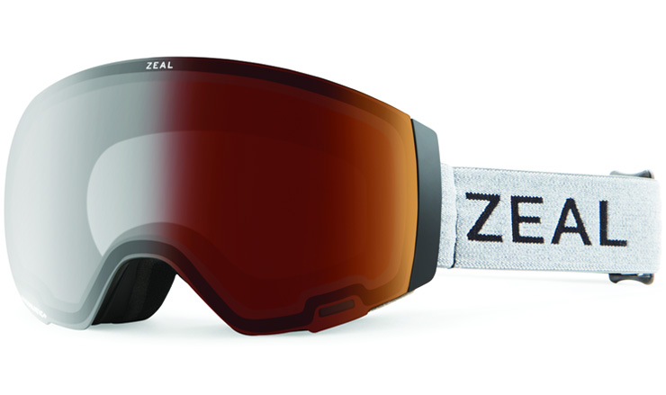 Zeal Portal Goggle Greybird Automatic+ GB and Sky Blue Mirror