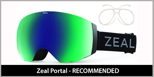 e76b2a8ba5 Prescription Ski Goggles - Skiing and Snowboarding Goggles