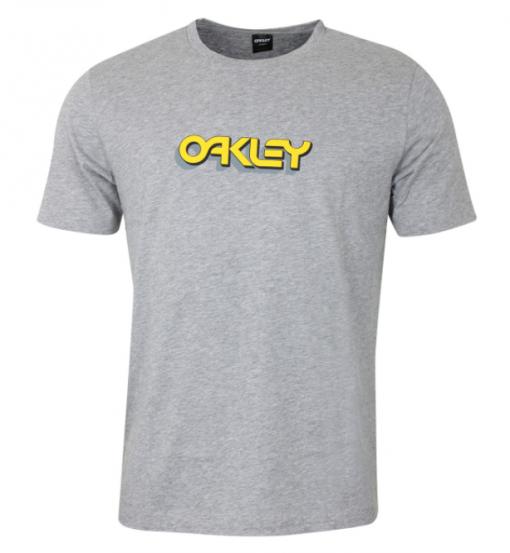 Oakley tee Grey : Yellow